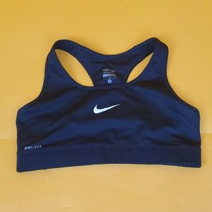 Nike Pro Dri-Fit Women sport Bra black sz M